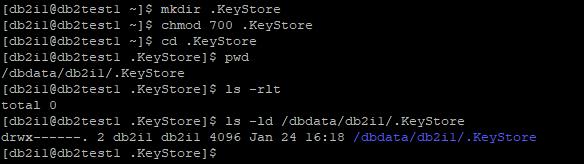 Create Folder for Local KeyStore