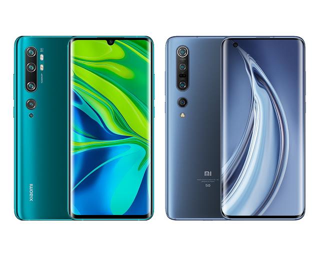 هاتف شاومي إم أي 10 برو Xiaomi Mi 10 Pro