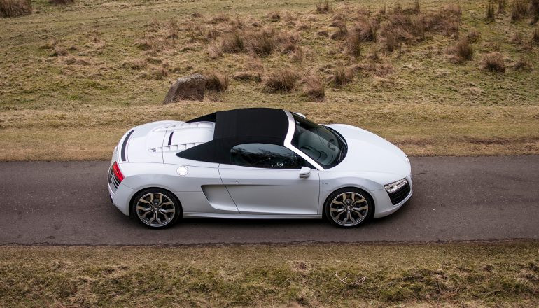 Audi R8 V10 SPYDER Hire Walsall