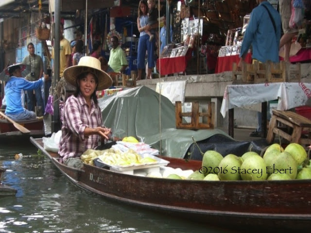 Floating Markets. From Through the Eyes of an Educator: Bangkok, Thailand
