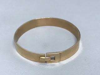 14K Gold Modernist Bracelet 1