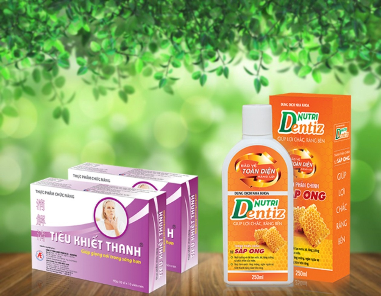 Bộ đôi sản phẩm hỗ trợ điều trị viêm họng hiệu quả