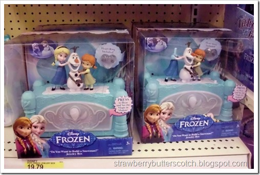 All was not right in the Frozen toy aisle at Target.