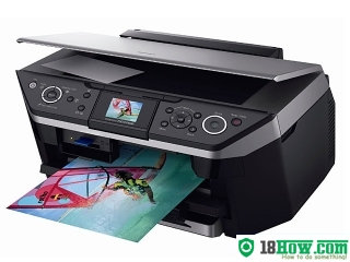 How to reset flashing lights for Epson RX690 printer