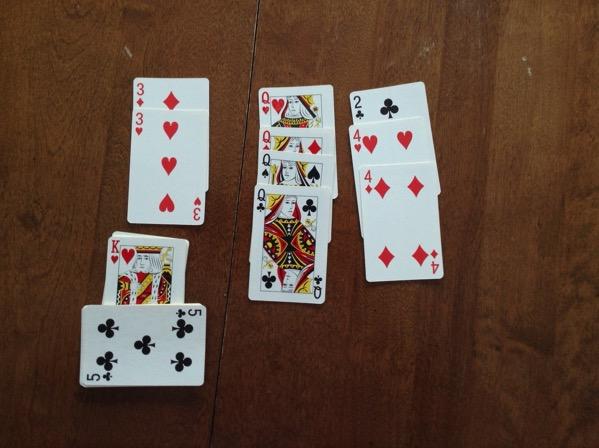 Cards canasta