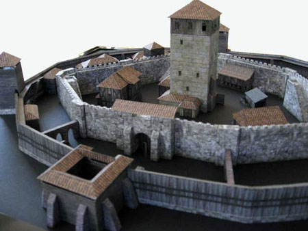 Louvaillac Medieval Castle Papercraft