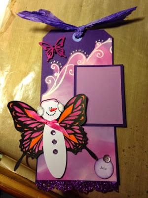 butterfly snowman, sumer snowman