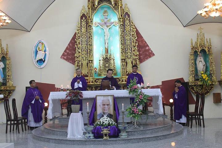 Lễ giỗ cha Gioakim Đoàn Kim Hiền tại Ghềnh Ráng