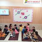Raksha Bandhan Celebration by Nursery Section at Witty World Bangur Nagar (2018-2019)