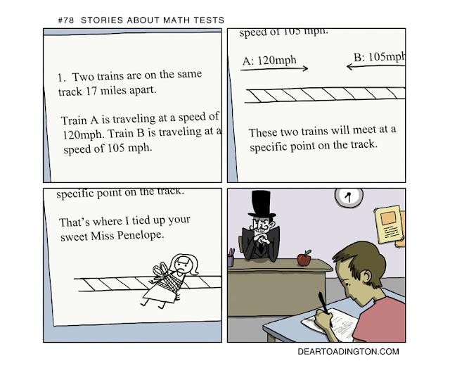 Dear Toadington - Evil Villian Procters a Math Test