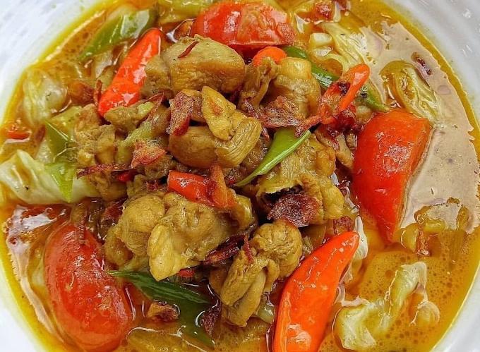 Resep Tongseng Ayam Dengan Dan Tanpa Santan