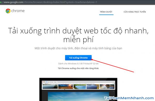 Trang tải Chrome offline full mới nhất