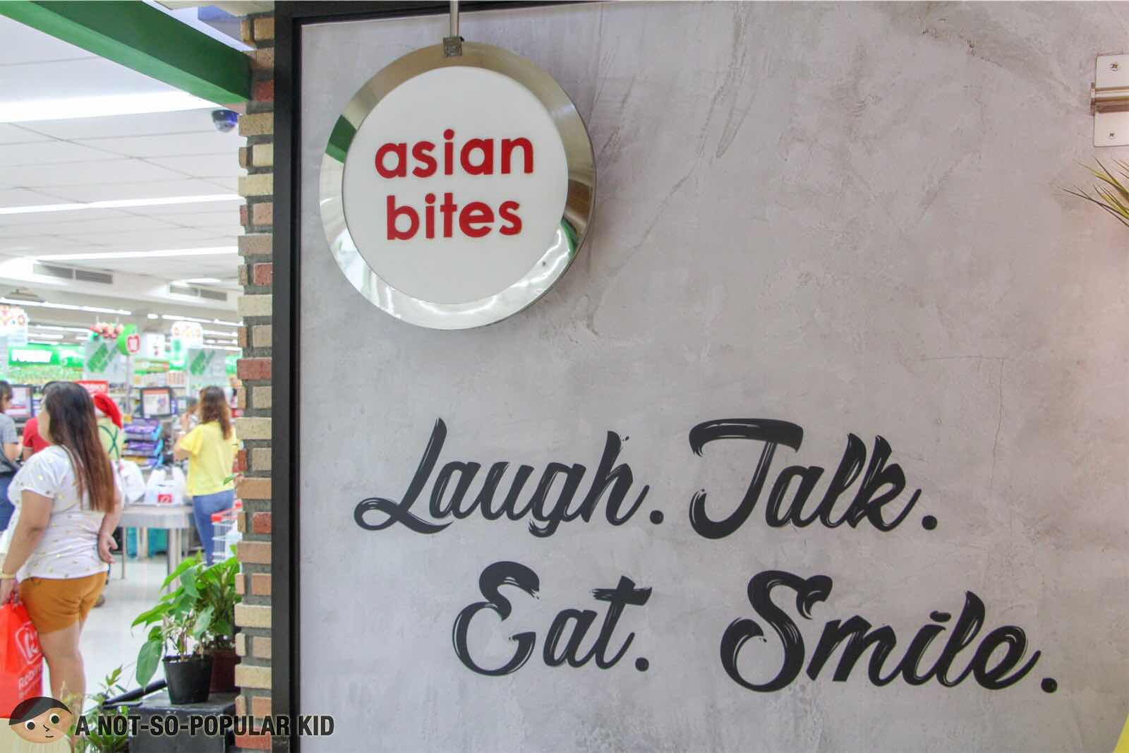 Asian Bites restaurant inside Robinsons Supermarket