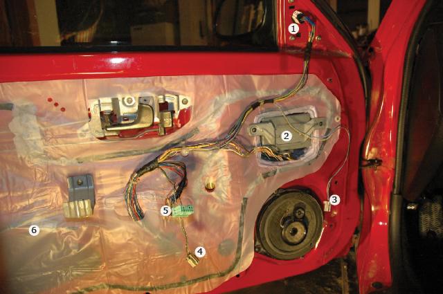 The DEFINITIVE 92-95 Civic Power Folding HEATED Mirrors / Locks