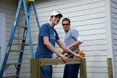 Jason building that deck...