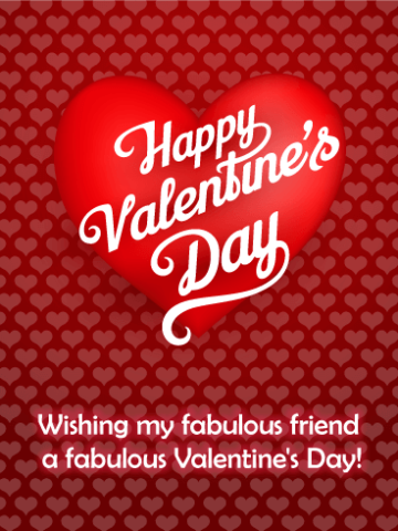 Valentines day wishes for freinds