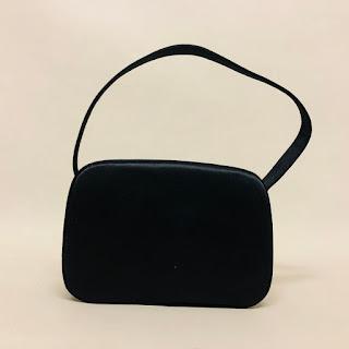 Prada Black Satin Evening Bag