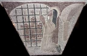 Ste Thérèse dans son Carmel