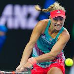 Angelique Kerber in action at the 2016 Australian Open