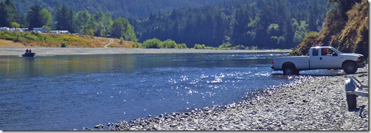Rogue River, Huntley Park, Gold Beach Oregon