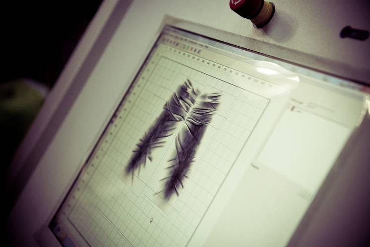 *MCS環保概念的紡織工藝:雷射破壞製作過程完整公開! 4