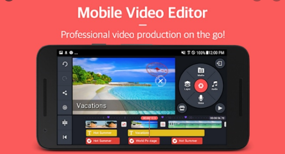 Download Kinemaster MOD APK Application, without a watermark!