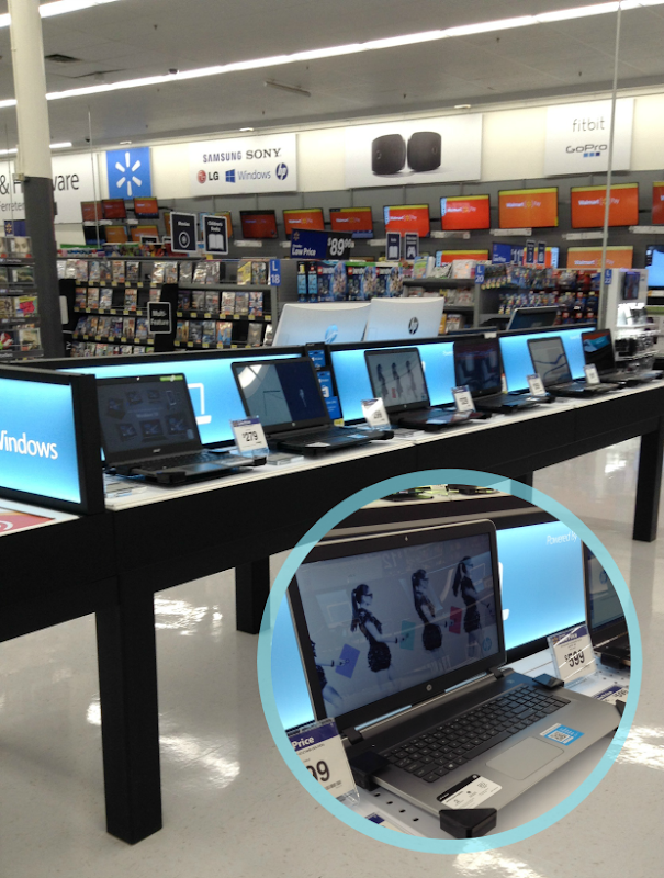 HP computers at Walmart #BTSwithHP