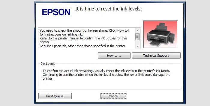 Epson Resetter L120 Free Download Plus Tutorial