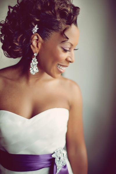 Hair:Wedding Hairstyles ForThe owners of dark skin 2017 6