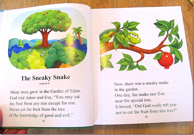 The Beginner's Bible from Zonderkidz, garden of eden