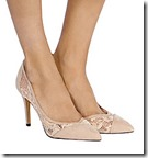 Coast nude lace court shoe
