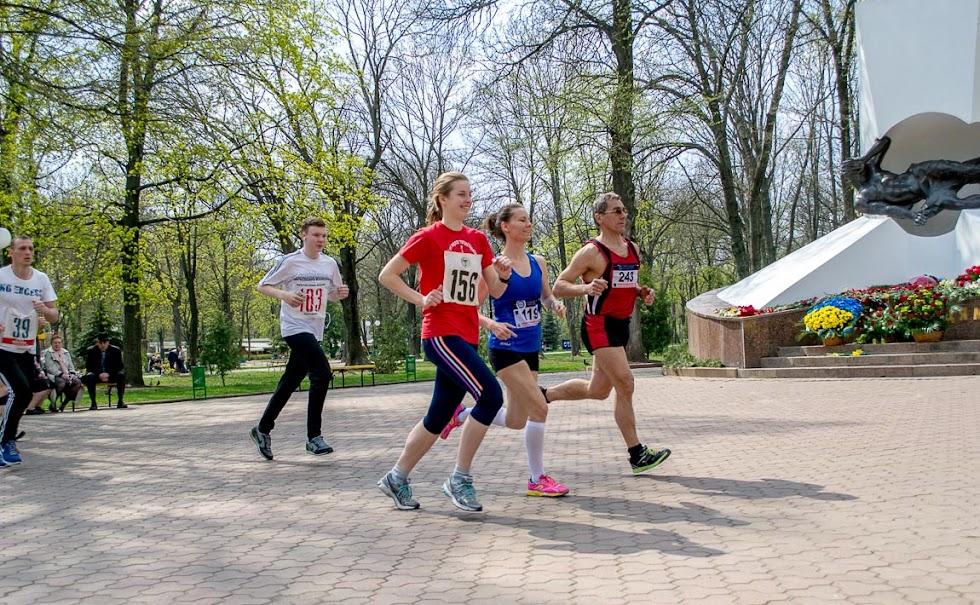 Традиционный л/а пробег «Чернобыльский набат», посвященный героям Чернобыля (10 км, 5 км, 1 км)