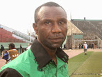 Florent Ibenge, entraineur de l'As. Vita club de Kinshasa, le 18/05/2014 au stade Tata Raphael. Radio Okapi/Ph. John Bompengo