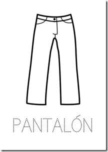 Pantalón ropa dibujos colorear pintaryjugar  (26)