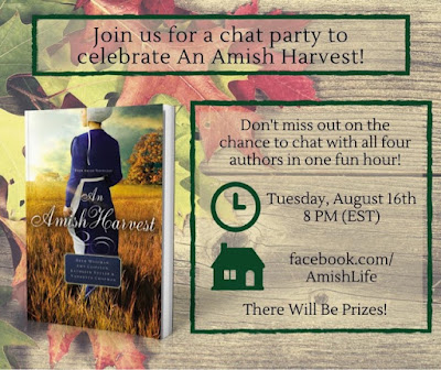 Join An Amish Harvest FB Chat Party 8/16/16