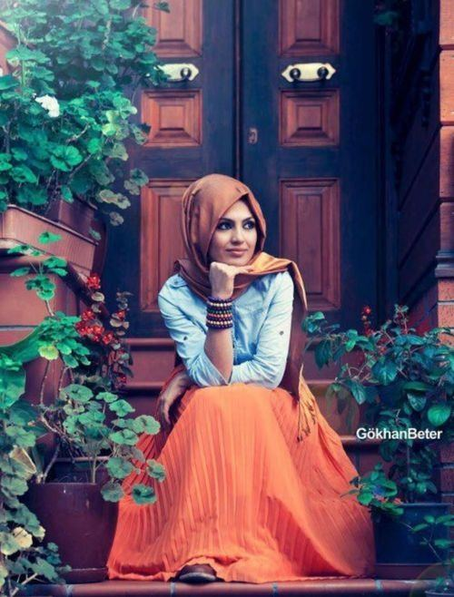 new hijab skirts outfits 2016 style