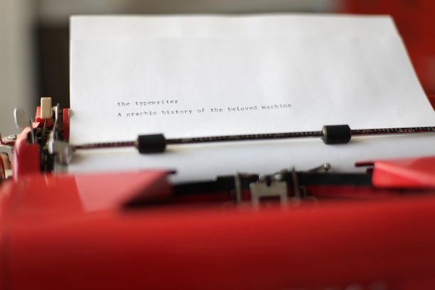 Janine Vangool of Uppercase Magazine Typewriter Project