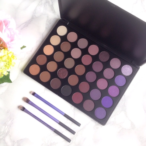 Morphe 350P Eyeshadow Palette Review
