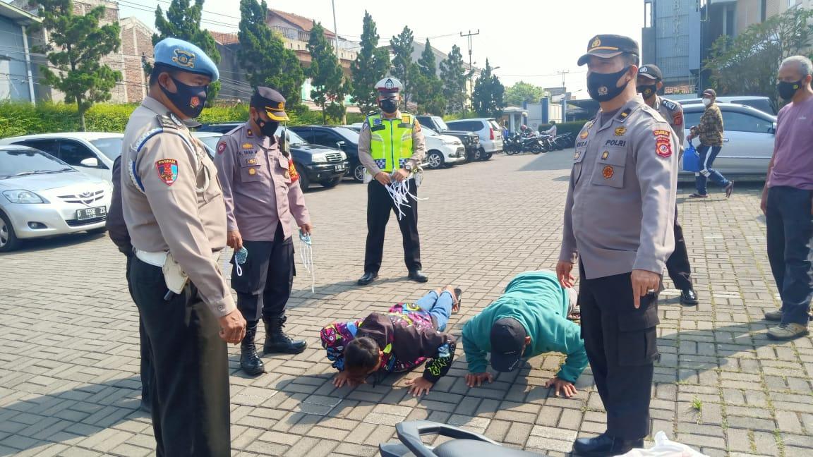Polresta Bandung Polda Jabar Terus Tingkatkan Kegiatan Operasi Yustisi