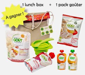jeu concours a gagner pack lunchbox Good Goût