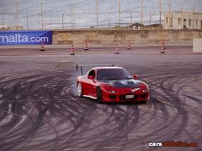 Frank Spiteri's Red Mazda RX7