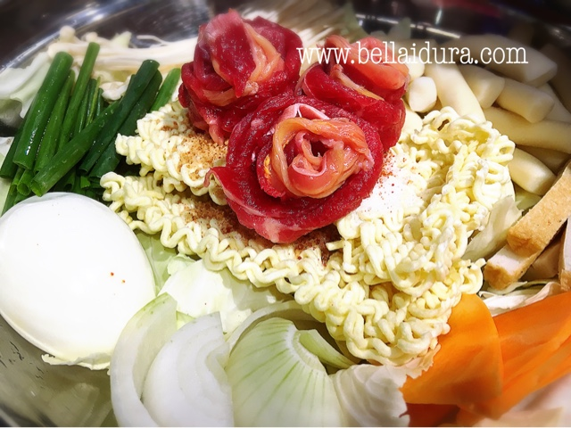 hanbing, menu korea