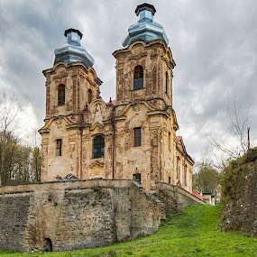 An old pilgrimage site by Martin Namesny - Buildings & Architecture Decaying & Abandoned ( old, church, destroyed, outside civilization, sad, destruction, tabernacle, historical, pilgrimage, decay, abandoned )