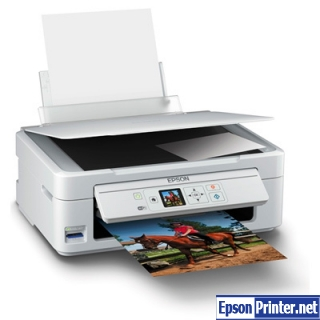 How to reset Epson XP-315 printer
