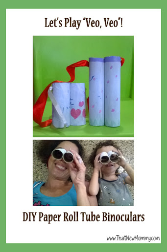 DIY Paper Roll Tube Binoculars