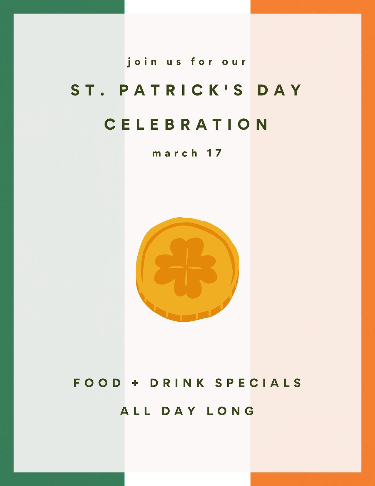 St. Patrick's Celebration - St. Patrick's Day Template