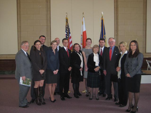 Honorowy Konsulat Rzeczpospolitej Polski w Atlancie, oficjalne otwarcie 3.31.2011 przez ambasadora R - IMG_7535.JPG