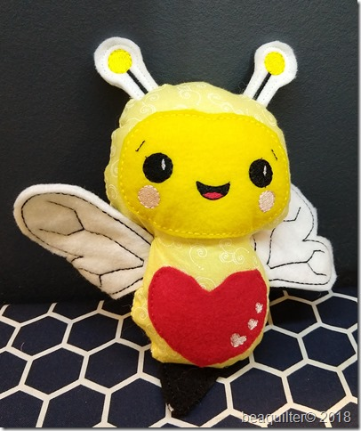 bee ITH machine embroidery