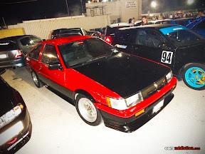 Red Toyota Corolla AE86