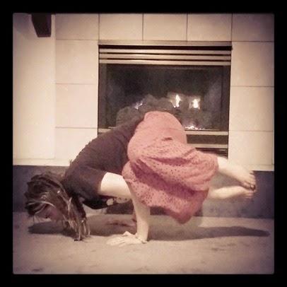 the boho hobos april yogaeverydamnday challenge